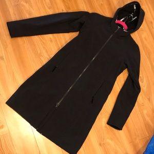 Lululemon black long jacket sz 4